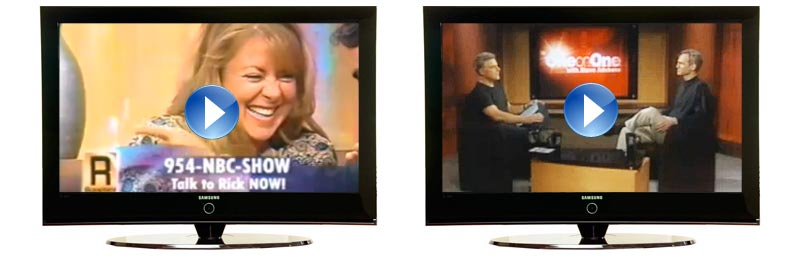 CTRN's Vanquish Program on Two TV Shows