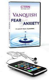 The Vanquish Fear and Anxiety Program for Theaters Phobia